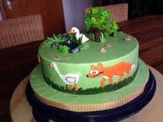 Gänse Torte