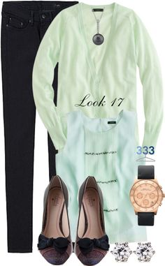 """""""Project 333/Phase 6/Winter 2012- Look 17"""" by jcrewchick ❤ liked on Polyvore"""