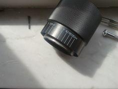 7) Una volta rimosso il fermo, il barilotto si svita e si separa dalla parte con gli indici.