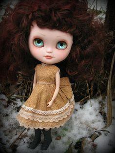 RESERVED On Layaway OOAK Custom ICY Doll Elodie by cindysowers