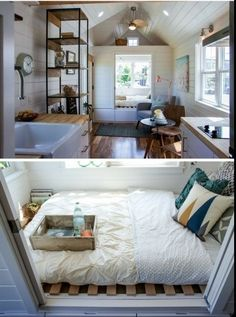 367 Best Tiny House Bedrooms Lofts Images In 2019 Bedroom Ideas