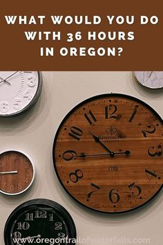 What would you do with 36 hours in Oregon? So glad you asked? Here's a detailed game plan! Oregon City, Oregon Coast, Oregon Trail Game Online, Oregon Wine Country, Oregon Waterfalls, History For Kids, Willamette Valley, Columbia River Gorge, Oregon Travel
