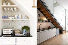 Étagères et espaces de rangement sous escalier sont les meilleures astuces pour utiliser la zone sous les escaliers. / 60 Under stairs storage ideas for small spaces