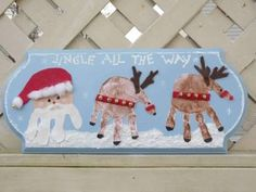 christmas handprint crafts - Google Search