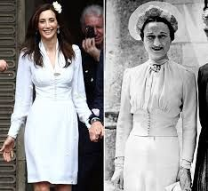 nancy shevell wedding dress -