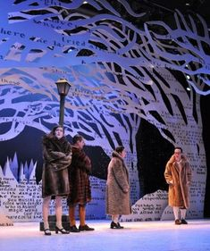 Fantasy world comes alive in production of C. Stage Set Design, Set Design Theatre, Ricardo Iii, Mouton Cadet, Christmas Stage Design, Narnia Costumes, Bühnen Design, Scenography Theatre, Grand Canyon University