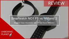 Video mit Vergleich der Daten von Smartwatch NO.1 F5 und Xiaomi Mi Band 2 #vergleich #daten #smartwatchno1f5 #xiaomimiband2