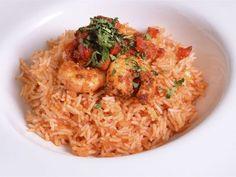 Receta | Gambas cajún con arroz especiado - canalcocina.es
