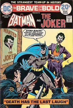 By Bob Haney & Jim Aparo, with John Calnan (DC Comics) With this third collection of Batman's pairing with other luminaries of the DC universe (collecting in spl… Dc Comics, Comics Und Cartoons, Batman Comics, Batman Poster, Batman Comic Books, Comic Books Art, Comic Art, Vintage Comic Books, Vintage Comics