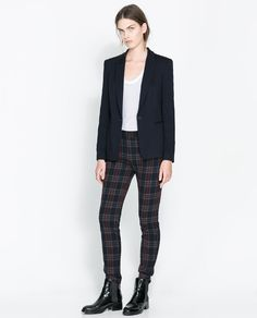 Image 1 of FABRIC BLAZER from Zara