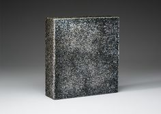 "Nathan Sandberg Right of Way Side 2 -Kilnformed Glass 12"" x 13"" x 3.5"""