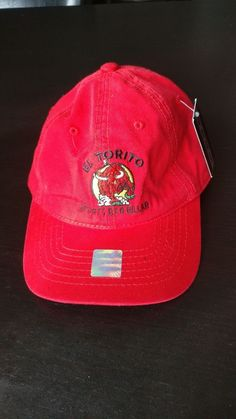 dbbdf4d7b48 Port Authority Mens Flex Fit Baseball Hat Cap with Embroidered with Front  Stitch Bull Image and Back Stitch