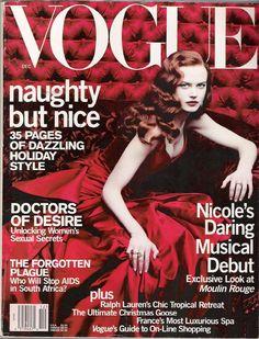 Nicole Kidman, photo by Annie Liebovitz, Vogue US, December 2000*
