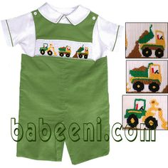 Great boys smocking at this site Little Boy Outfits, Baby Boy Outfits, Little Boys, Kids Outfits, Smocking Plates, Smocking Patterns, Smocked Baby Dresses, Cute Baby Boy, Heirloom Sewing