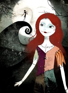A Nightmare Before Christmas by Anne-Julie Aubry