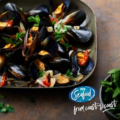 Disregard the myth about throwing away the shells that don't open. As it steams, the mussel opens when the adductor muscle inside the shell breaks. If the muscle doesn't separate, it's often just because there's a bigger mussel inside. Simply cook the closed mussels a little longer.  PRODUCT CODE: 052284 - Fresh Black Mussels