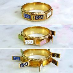 This fascinating enamel gold hidden message ring posted by @doyleanddoyle has no parallels (ok, maybe one in Victoria & Albert Museum...)!! #antiquejewellery #lovegoldlive #history #finejewelry #lovegold #fashion #antiquejewelry #love #colors #jewelry #gold #enamel #jewellery #ringsofinstagram #instadaily #symbolism #tags4likes #doyleanddoyle #historicjewels #message #sentimental #ring #inspiration #follow