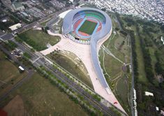 Main Stadium for The World Games 2009, Kaohsiung, Taiwan, 2009   : Toyo Ito | The Pritzker Architecture Prize
