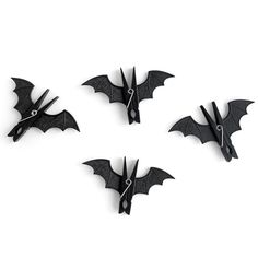 Bat Pegs..cute way to hold Halloween signs and decorations, or to cover regular pins.