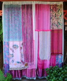 """Rock the Casbah"" - Gypsy curtains handmade by Babylon Sisters @ etsy."