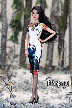 Fashion Royalty Doll is wearing a fashion by Elena Peredreeva on line at http://www.elenpriv.com. On Flickr  https://www.flickr.com/photos/elenpriv/favorites and on eBay at http://www.ebay.com/usr/peredreeva_elena?_trksid=p2060353.m2749.l2754
