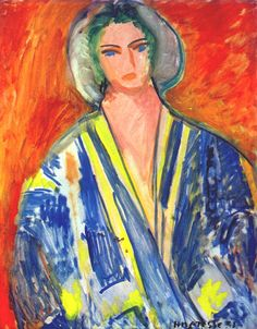 The Blue Gandoura Henri Matisse Henri Matisse, Matisse Art, Matisse Paintings, Picasso Paintings, Paintings I Love, Portrait Paintings, Art Paintings, Diego Rivera, Post Impressionism