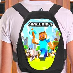 New hot custom minecraft bag 06 40676768 Backpack bag cheap sale ideal for unise - Backpacks, Bags & Briefcases