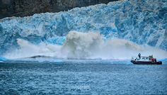 Noelegroj (De regreso de Carretera Austral) posted a photo:  Panoramic view made of 9 consecutives shots. This one of my captures posted by National Geographic Chile, Official Instagram, April, 2017.  El Glaciar San Rafael es uno de los mayores glaciares del Campo de Hielo Norte en la Patagonia Chilena. Es la mayor masa de agua congelada mas cercana al Ecuador en el mundo. Tiene un ancho de 2 kms y un frente de 50 mts de altura, con un largo de 20 kms desde su nacimiento en el campo de hielo…
