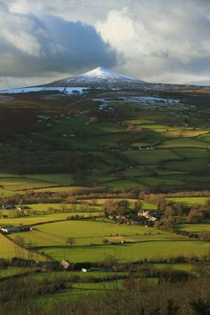 sugar loaf brecon beacons the black mountains wales uk