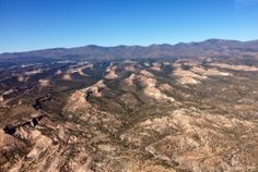 Aerial photo of Los Alamos, NM (Fall 2013)