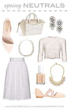 Spring Neutrals | Living in Color Print