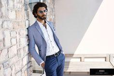 Giacomo Conti Wiosna/Lato 2016 Stylizacja od Giacomo Conti: Models, Sport Casual, Office Outfits, Mens Suits, Duster Coat, Handsome, Mens Fashion, Blazer, Elegant