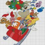 Kanaviçe Temel Reis, Tom ve Jerry, Pepe Örnekleri
