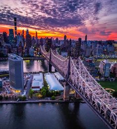 The Bridge (The Ed Koch Queensboro bridge) Credit: Jennifer Khordi Cityscape Photography, Sunset Photography, Inspiring Photography, New York Street, New York City, Earth City, I Love Nyc, Manhattan Nyc, New York Photos