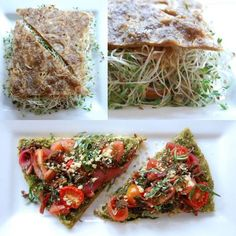 Lunch at raw vegan restaurant Rawlicious in New York - everything in this blog post is beautiful.: