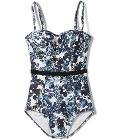 Panache Florentine Bandeau One Piece | Swimsuits for allin flattering fabrics and clever cuts that are suited for real bodies.