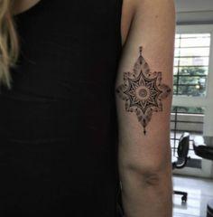 Ornamental back arm piece by Fillipe Pacheco