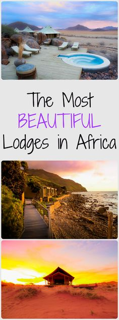 The most beautiful lodges for safari and beach. Including destinations in Tanzania, Kenya, South Africa, Mozambique, Namibia, Zambia, Zimbabwe, Zanzibar.