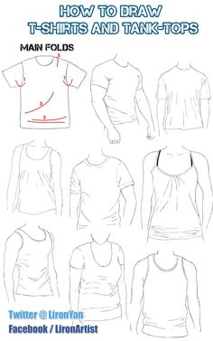 How to Draw Folds and Clothes: Shirt - Liron Yanconsky - Google Search