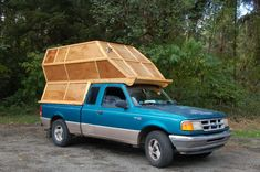 New box truck camper open roads Ideas Slide In Camper, Popup Camper, Diy Camper, Camper Ideas, Truck Shells, Truck Camper Shells, Motorhome, Cabover Camper, Truck Bed Camping