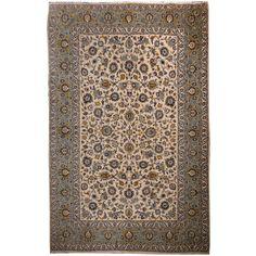 10708 Kashan rug Iran / Persia 11.0 x 7.8 ft / 336 x 237 cm