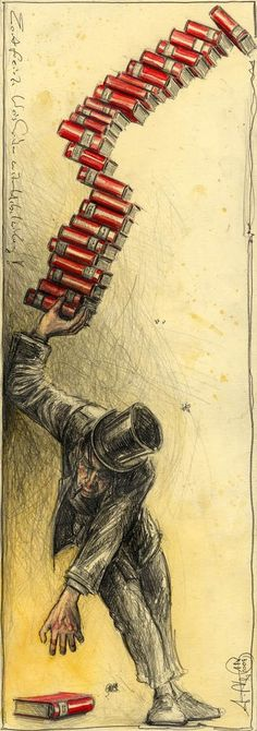 Andreas Noßmann - I have a set of bookmarks illustrated with his work - but not this one!