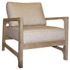 Gentility Exeter Oak Frame Chair @Zinc_Door