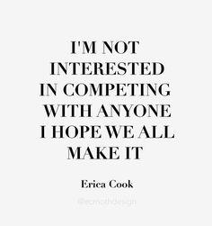 menos competição, mais colaboração <3