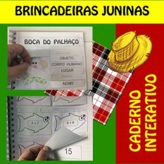 Código 574 - Caderno Interativo Brincadeiras Juninas