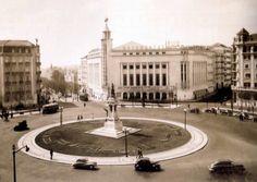 Praça do Saldanha, Lisboa - 1950