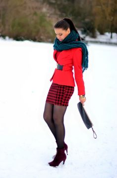 TamaraChloéStyleClues: Red Hot Winter