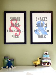 This would be precious side by side for a shared sibling room (boy/girl twin friends....) but I'm thinking about just getting M the boy one.