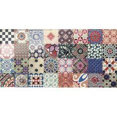 #Mainzu #Catania Vulcano 15x30 cm, 3 verschiedene Dekors | #Keramik #Dekore #15x30 | im Angebot auf #bad39.de 20 Euro/qm | #Fliesen #Keramik #Boden #Badezimmer #Küche #Outdoor