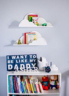 Étagère nuage pour enfants chambre bébé chambre de bébé décoration murale suspendu nuage étagères - décorations pour chambre mur oeuvre nuages (point - CLD500) par ZCreateDesign sur Etsy https://www.etsy.com/ca-fr/listing/459582562/etagere-nuage-pour-enfants-chambre-bebe